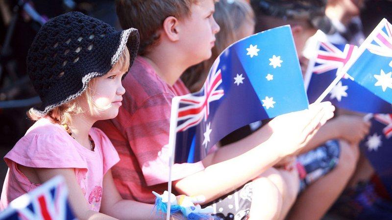 дети в австралии