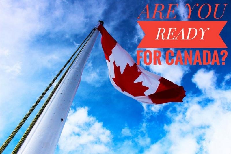 флаг канады на флагштоке