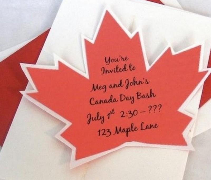 открытка приглашение в канаду