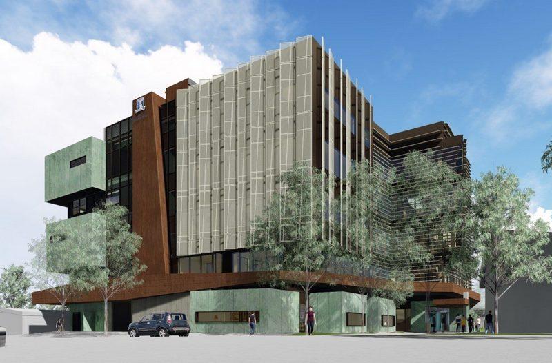 учебный корпус мельбурнского университета