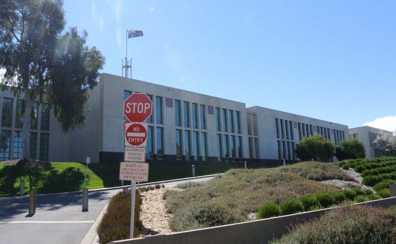 здание правительства австралии