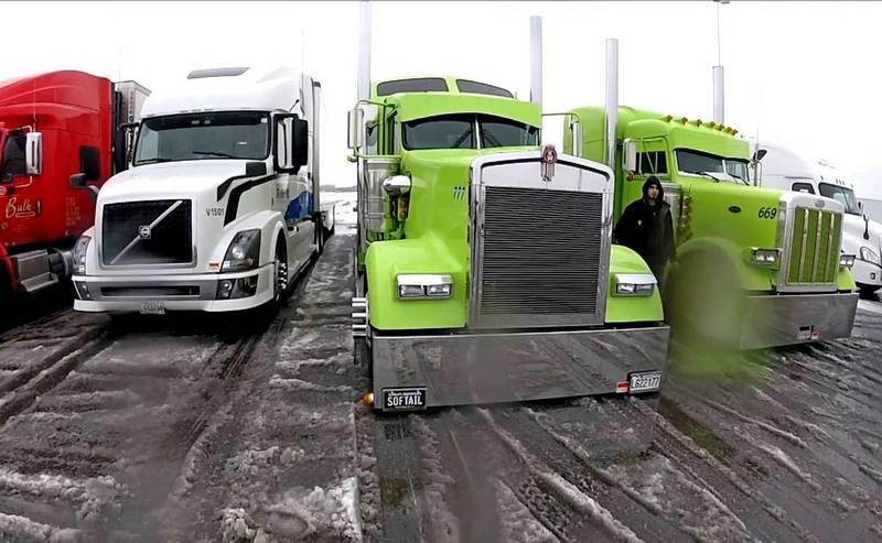 канадские грузовики